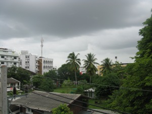 dark clouds seen from my GH in Songkhla